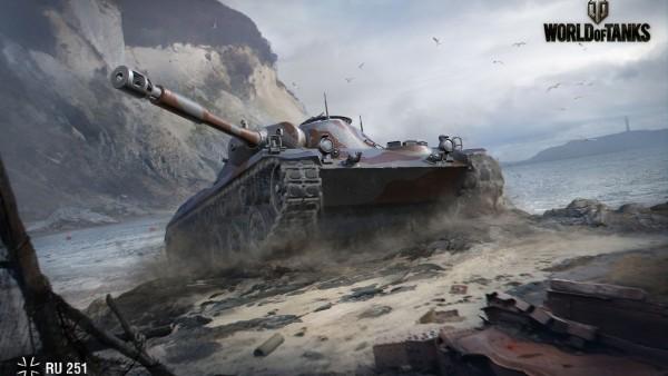 Spähpanzer Ru 251, World of tanks, игра, танк, война
