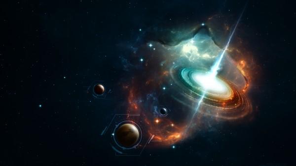 Обои тема космос 3D