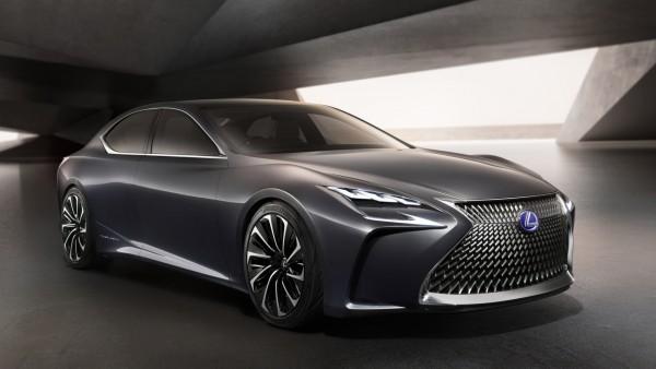 2015 Lexus LF LC Concept HD обои на рабочий стол