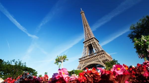 Эйфелева башня, Париж, Франция, город, картинки
