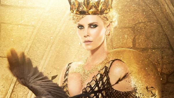 Злая королева, охотник, зима, войны, Шарлиз Терон, Белоснежка