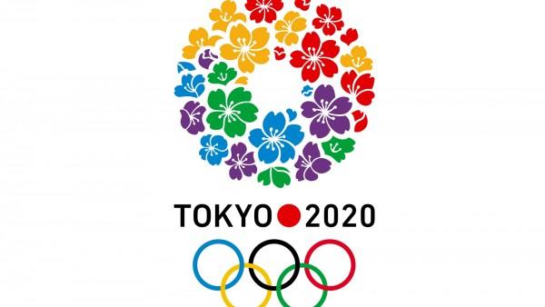 Летние Олимпийские игры 2020 логотип фон