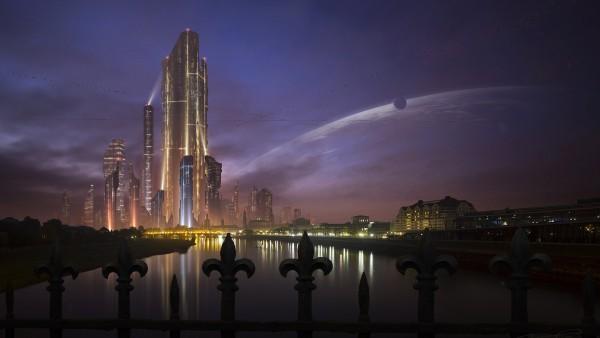 Сказочный город фентези таун заставки