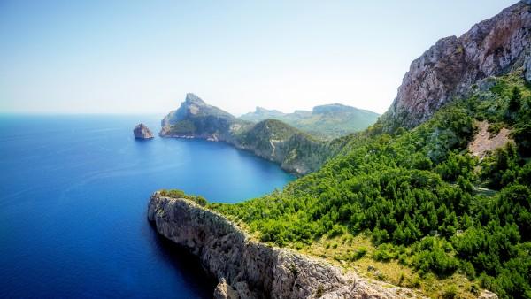 Широкоформатные обои красивого острова