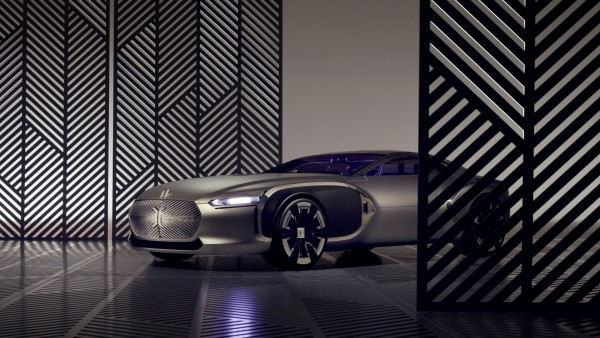 концепт автомобиля Renault Corbusier