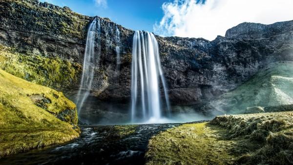 Сельяландсфосс, водопад, Исландия