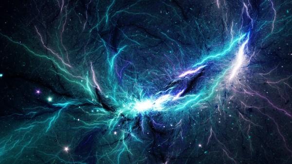 Тор, туманность, космос, фон, заставка, звезды