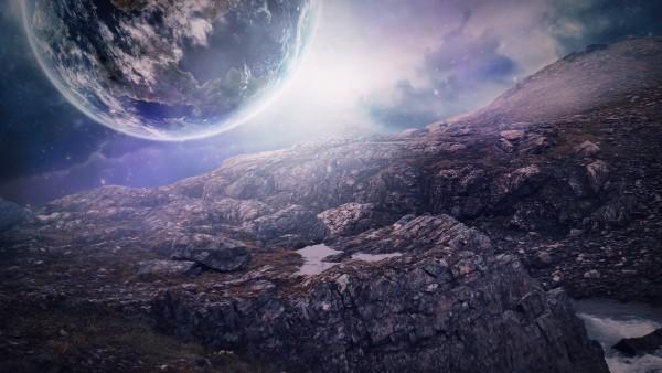 Близкие планеты в космосе обои на рабочий стол