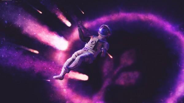 Астронавт в космосе фоновые заставки