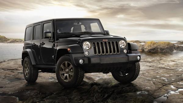 2016 Jeep Wrangler 75th Anniversary Model HD обои скачать