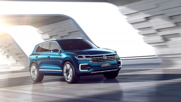 Гибрид Volkswagen T-Prime Concept GTE HD обои автомобиля
