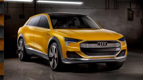 Экологически чистый концепткар Audi h-tron quattro concept обои HD