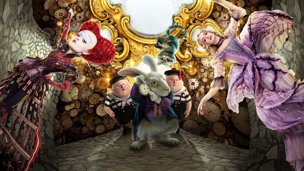 Алиса в Зазеркалье постер к фильму скачать
