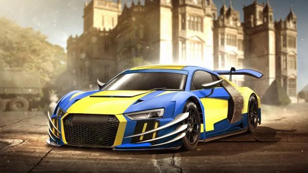 Audi R8 росомаха HD обои скачать