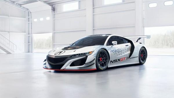 2017 Acura NSX GT3 гоночный автомобиль