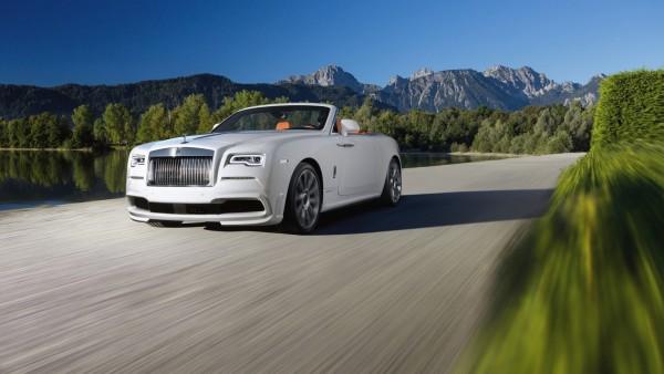 Роллс-Ройс, Spofec, Rolls-Royce, кабриолет, автомобиль, белый