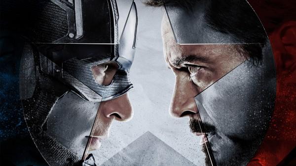Железный человек против Капитана Америка фото