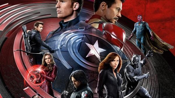Железный человек, Железный человек, Вижен, Чёрная Пантера, Зимний солдат, сокол