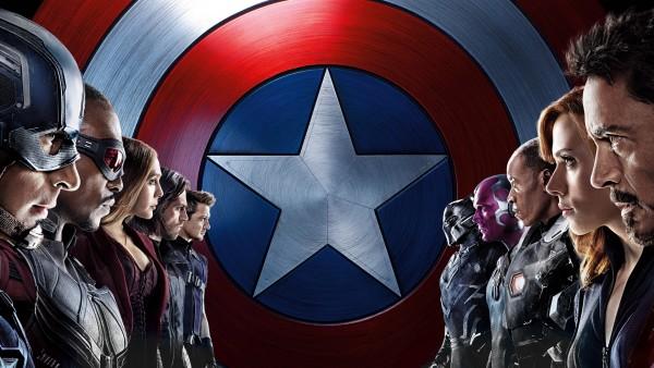 Капитан Америка против Железного человека мстители обои