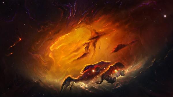 Космос, Небула, Nebula, 4k, 3840x2160, space, HD, обои, картинки