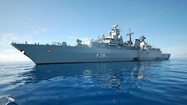 Германский флот линкор Кригсмарине обои на рабочий стол