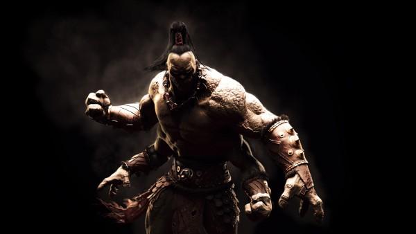 Горо, Mortal Kombat, мортал комбат, боец, игра, фэнтези, кулак обои