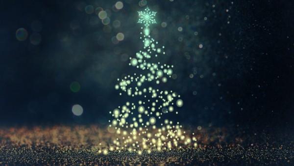 Рождественская елка, christmas tree, гирлянды, огни, Новый год, праздник обои