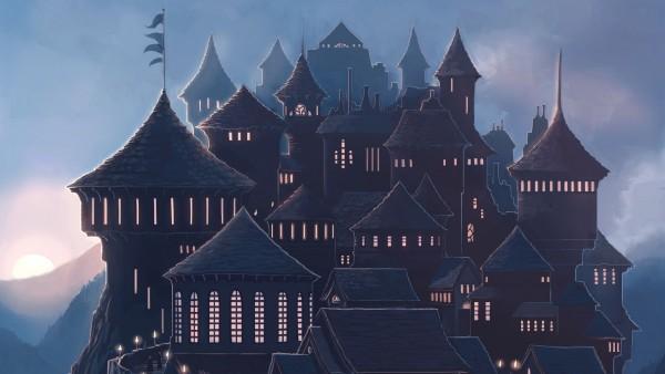 Школа Хогвартс из Гари Потере обои