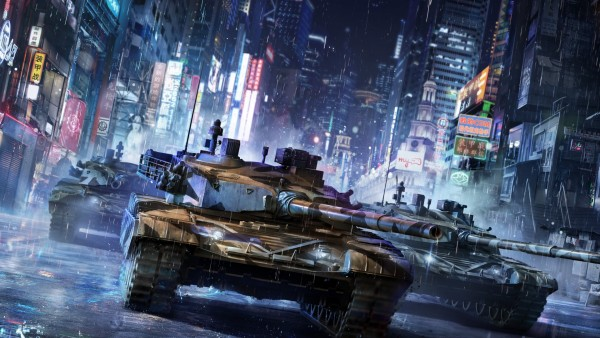 Armored Warfare, проект армата, игра, обои, картинки, фото, танки, город