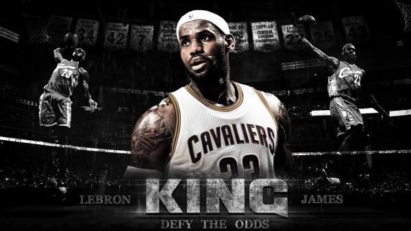 Спортсмен, король, Леброн Джеймс, баскетболист, НБА, Кливленд Кавальерс, LeBron James, NBA обои