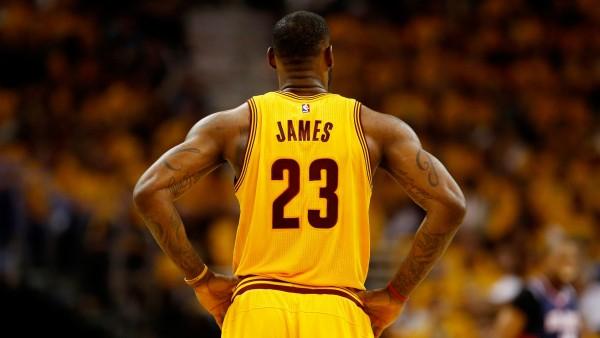 Леброн Джеймс, баскетболист, НБА, Кливленд Кавальерс, LeBron James, NBA