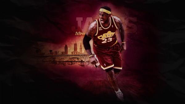спорт, LeBron James, NBA, спортсмен, Леброн Джеймс, баскетболист, Кливленд Кавальерс, НБА, фоны