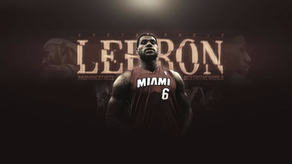 LeBron James, NBA, Майами Хит, спортсмен, Леброн Джеймс, баскетболист, НБА обои