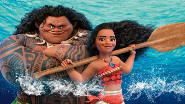 Моана Ваялики, Мауи, hd обои, моана, moana, мультфильм, дисней, фото