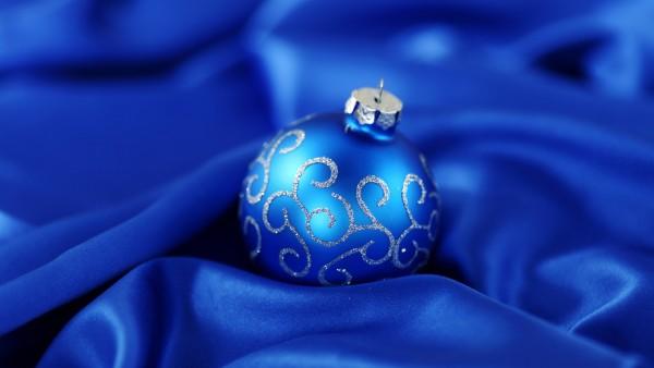 Синий шарик