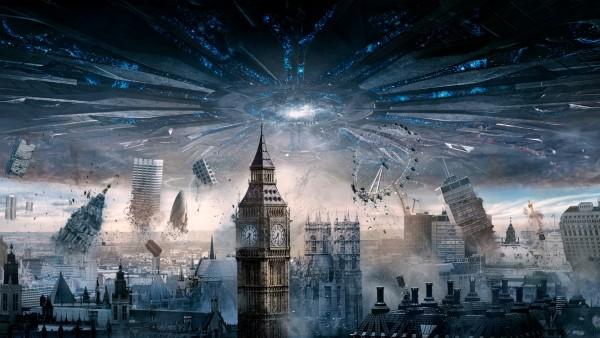 лондон, день независимости, возрождение, уничтожение, город, утопия, HD Обои, скачать