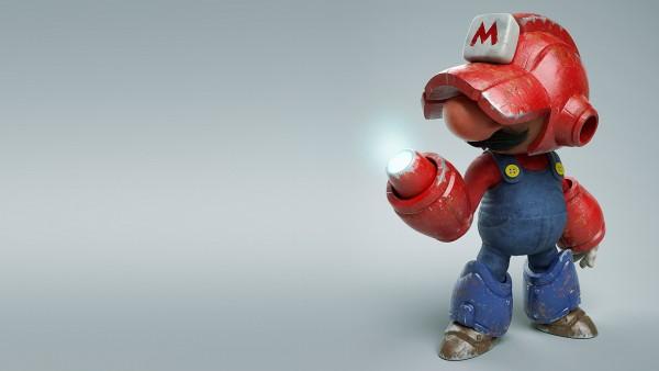 Mega Mario, Мего Марио обои HD