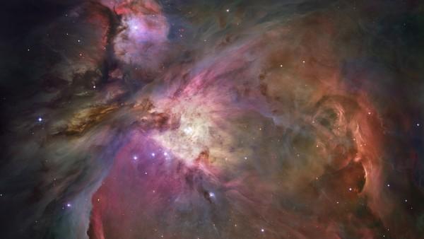 Снимок с космоса телескопом хаббл созвездия Орион обои