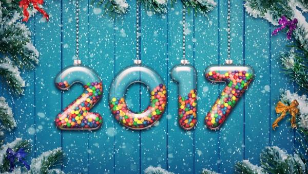 Новый год 2017 обои HD