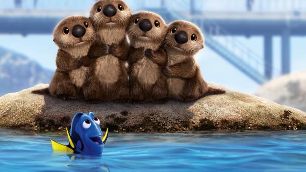 Дори, рыбка, синева, Finding Dory, мультфильм, море, В поисках Дори, дисней, Pixar, Disney, бобры, рыбка, Пиксар, Анимация,  beavers, nemo, fish, animation