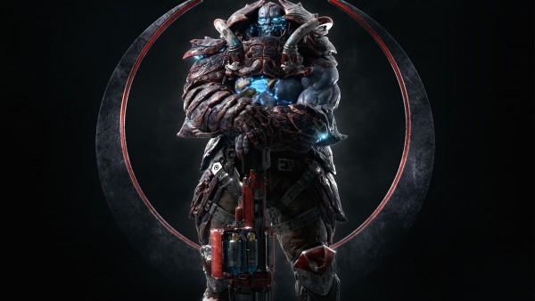 Scale Bearer, Quake Champions, Game, квейк, игра, фэнтези, шутер