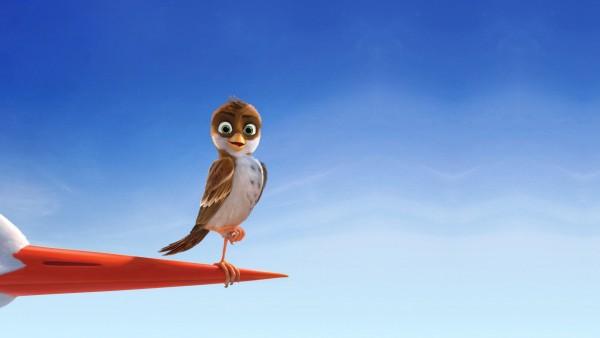 Трио в перьях, воробей, Ричи, птичка, птица, мультфильм, скачать, обои
