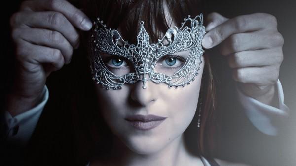 Дакота Джонсон, Dakota Johnson, фильм, маска, обои