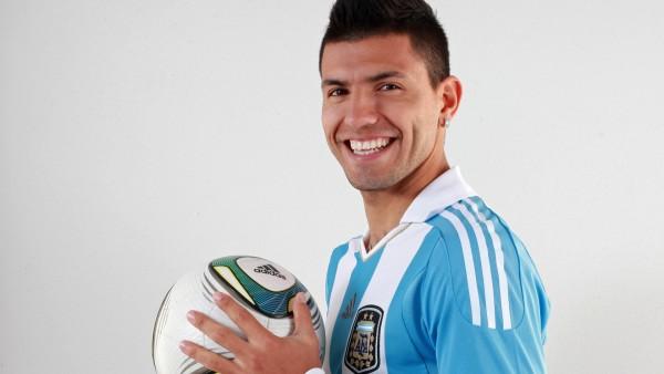 Серхио Агуэро, Sergio Aguero, Манчестер Сити, футболист, нападающий, обои
