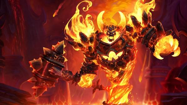 Рагнарос Повелитель Огня обои HD