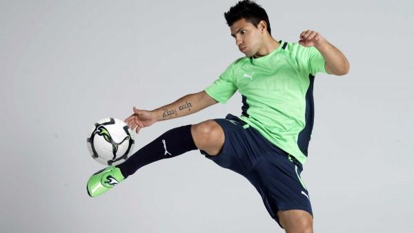 Серхио Агуэро футболист нападающий Манчестер Сити обои