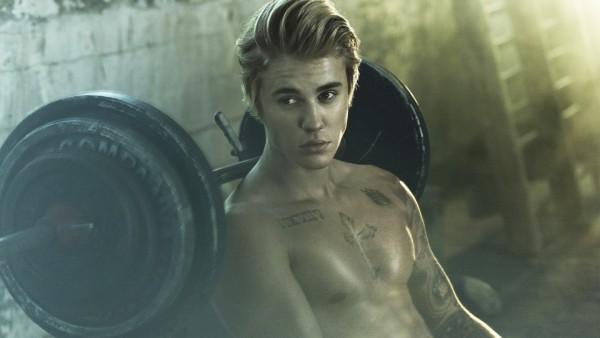 певец, Джастин Бибер, Justin Bieber, @justin_bieber, тело, мускулы, качалка, татуировки, штанга, фотошоп