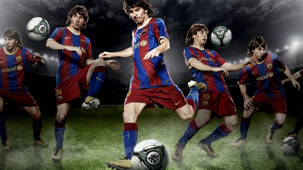 Великий футболист Лионель Месси в молодости обои