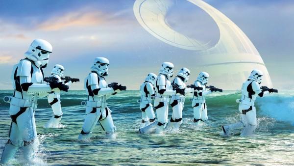 Штурмовик береговой обороны Звёздные войны обои