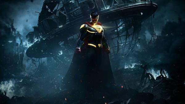 Injustice 2, Несправедливость 2, superman, Супермен, город, игра, обои